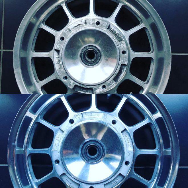 Triumph America rear wheel