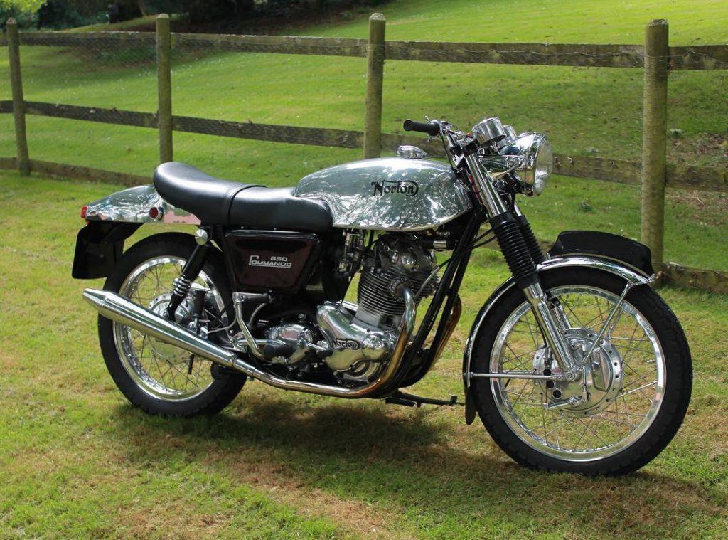 Classic Norton Commando 850cc Restoration – TT MOTO | Alloy