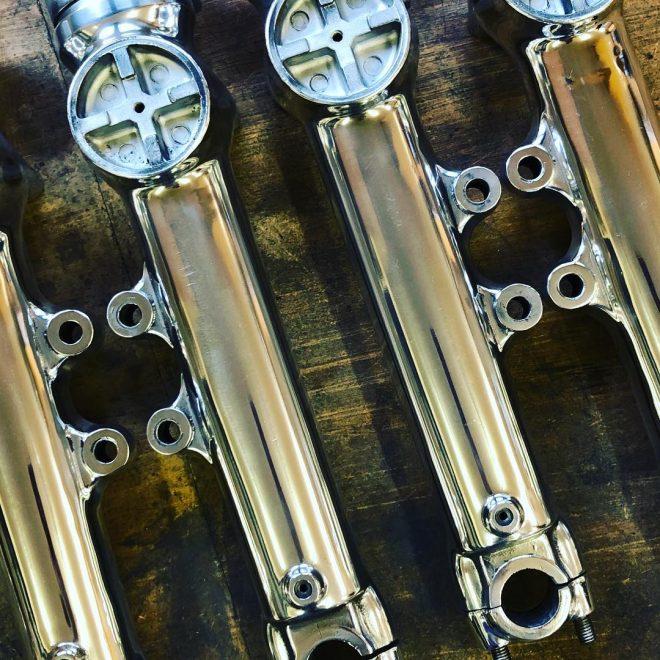 Kawasaki Z1 fork sliders