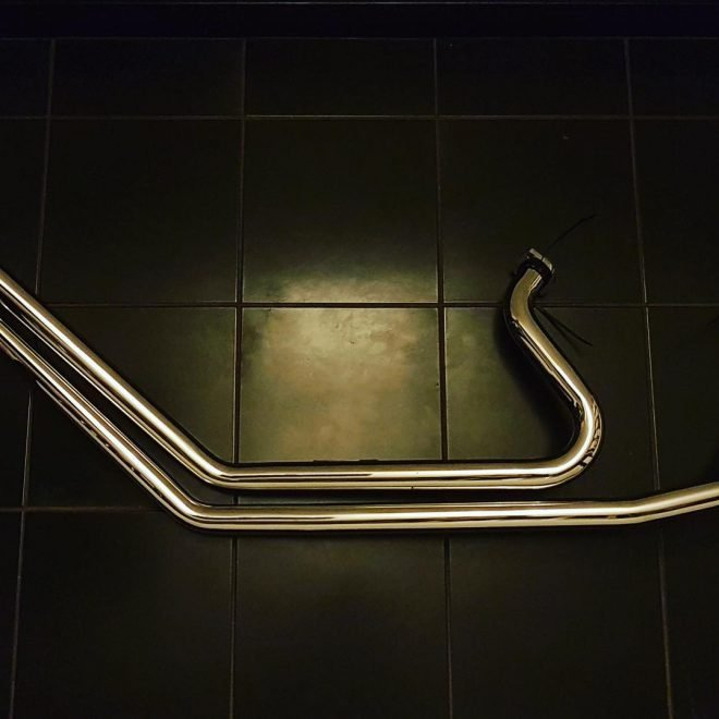 Stainless steel Harley exhausts